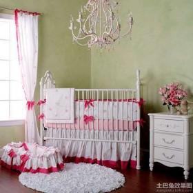 欧式婴儿床图片