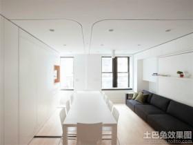 简约风格两室一厅休闲区装修