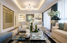 新古典风格二居室客厅装修设计图片欣赏