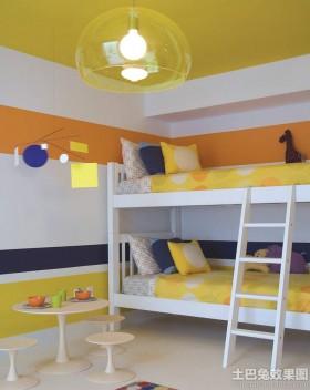 混搭风格儿童房装修图