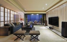 混搭风格客厅装修设计