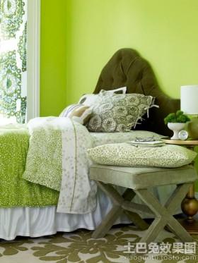 卧室绿色家居图片欣赏