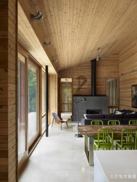木别墅室内设计