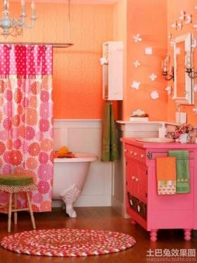 儿童浴室装饰效果图