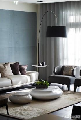 时尚现代家装三室两厅装修效果图