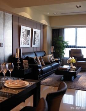 现代风格三房两厅装修效果图