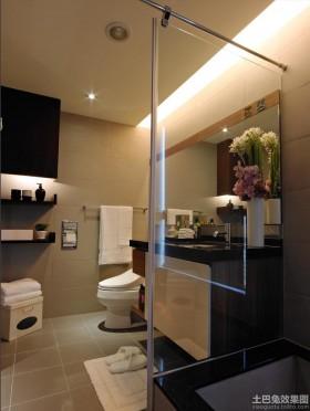 现代家居卫生间装修效果图大全