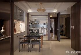 现代风格家装餐厅设计