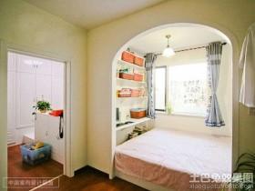 混搭风格两室两厅卧室装修效果图