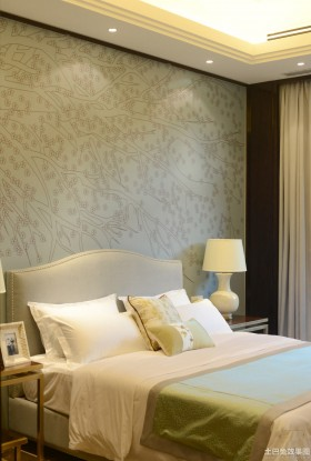 2014美式卧室装修效果图片大全