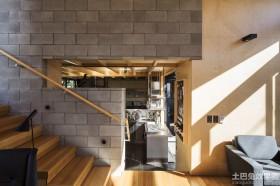 现代时尚风格楼梯装修效果图