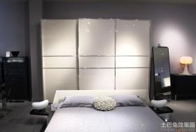卧室铝合金衣柜移门图片