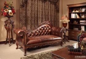 欧式古典风格贵妃椅沙发