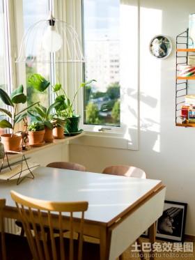 小餐厅窗台装修图片
