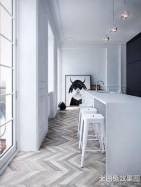 极简主义风格两室两厅装修效果图片