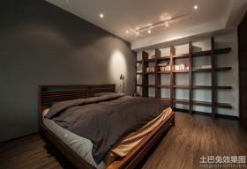 日式现代家装卧室设计效果图