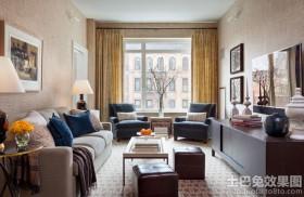 北欧风格两室两厅客厅装修效果图