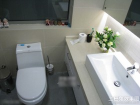 现代宜家风格卫生间洁具装修效果图