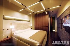 混搭风格二居室现代卧室装潢设计图片欣赏