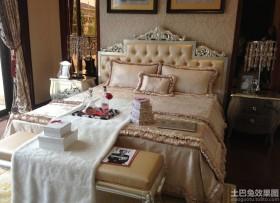 白领公寓欧式卧室装修效果图
