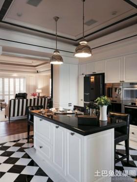 开放式厨房厨房岛台图片