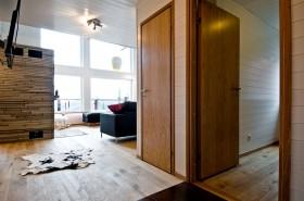 简约风格复式楼室内实木地板装修
