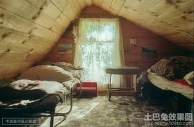 2014阁楼小卧室装修效果图大全