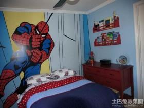 儿童房手绘墙案例图片