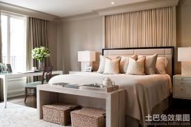 古典优雅现代两室两厅卧室装修