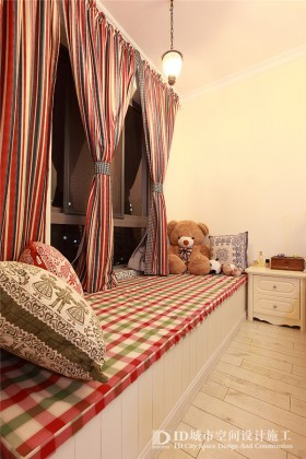 卧室大飘窗效果图片