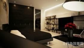 极简主义风格书房装修效果图