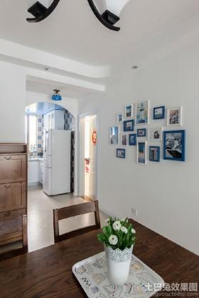 地中海风格照片墙效果图