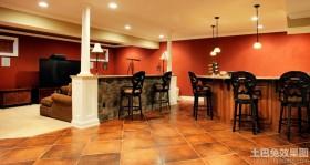美式风格别墅地下室装修