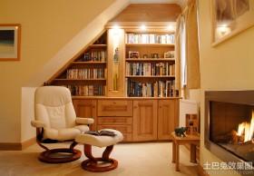 小户型阁楼书房