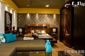 卧室家具搭配效果图