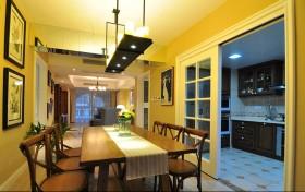 美式家庭餐厅装修设计
