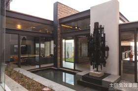 现代豪华别墅外观装修效果图