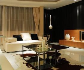 现代风格100平米二居室装修