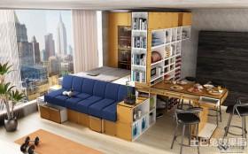 创意单身公寓设计图