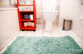 卫生间装饰防滑地垫图片
