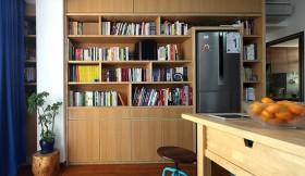 家具实木书架效果图欣赏
