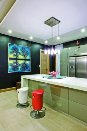 后现代室内家居吧台led灯具图片