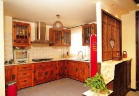 东南亚风格家居厨房装修效果图