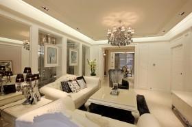 时尚高档装修客厅灯具图片欣赏