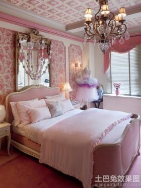 颜色欧式风格欧式公主房装修效果图片大全