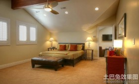 小户型卧室阁楼设计图片