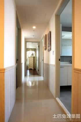 两居室家庭过道装修效果图