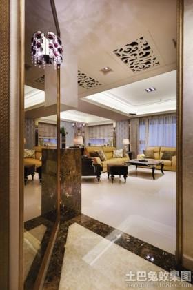 现代风格四室两厅装修效果图