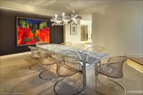 现代豪华住宅餐厅装修效果图