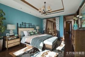 美式风格四室两厅卧室装修效果图片